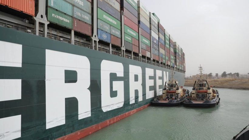 Suez Canal blockage is delaying an estimated $400 million an hour in goods