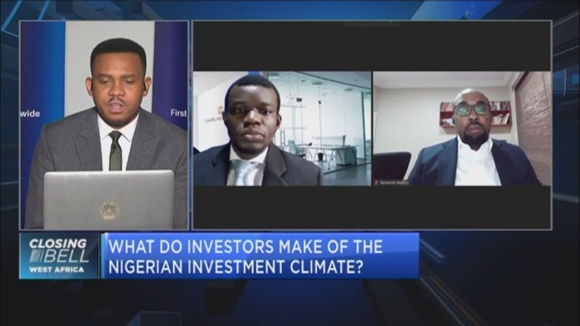 What do investors make of the Nigerian investment climate?