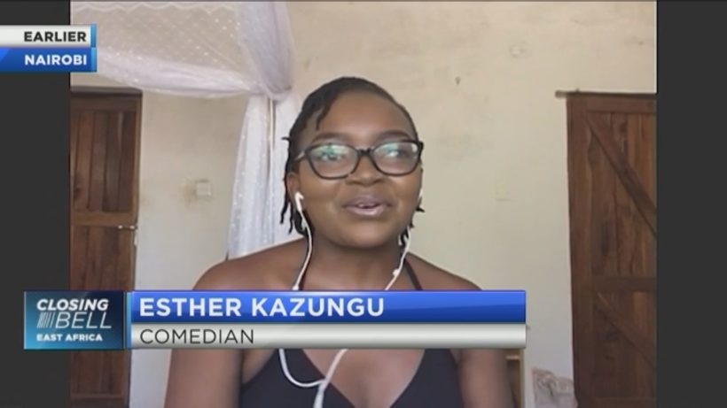 Comedian Esther Kazungu on the business of making people laugh amid COVID-19