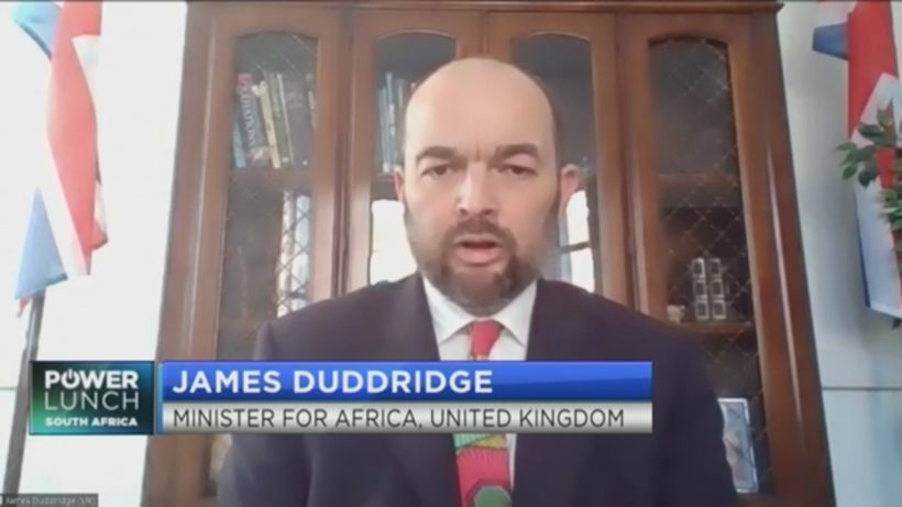 James Duddridge on the UK's role in Africa's economic recovery