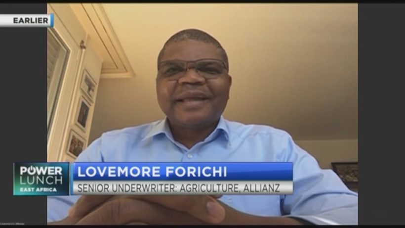 Allianz's Lovemore Forichi on why uptake of agriculture insurance in Africa is low
