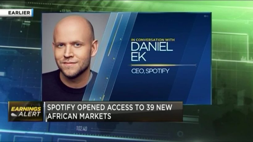 Spotify sees 'great future' for Africa's music industry