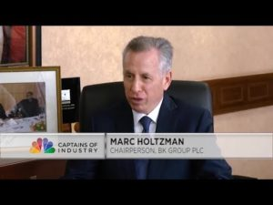 Captains of Industry: BK Group Chair Holtzman outlines future plans for the bank