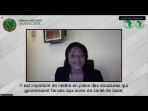 AfDB's 2021 Annual Meetings:  How best Africa can build its Healthcare Defence System