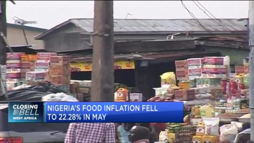 Nigeria's headline inflation drops to 17.93% in May