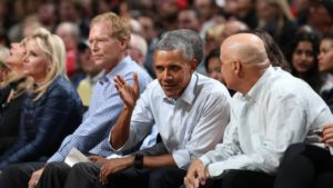 Former President Barack Obama is now a minority owner in NBA's Africa business