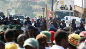 Eswatini anti-monarchy rally dispersed by force as forum due to meet