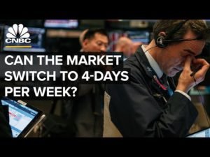 Could The Stock Market Switch To 4-Days A Week?