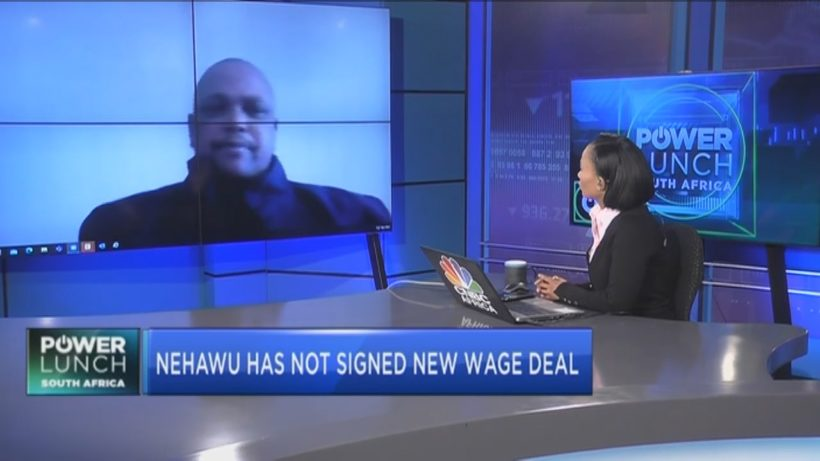 Nehawu's Saphetha explains why they are rejecting govt's new wage deal