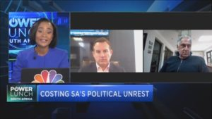 Counting the cost of South Africa's political unrest