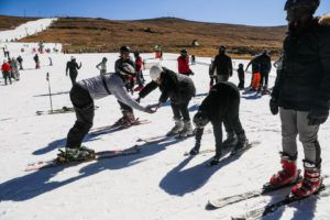 Skiing in Africa? Tourists hit Lesotho slopes despite COVID-19 woes