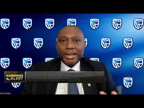 Standard Bank CEO discusses company's half-year performance, growth opportunities
