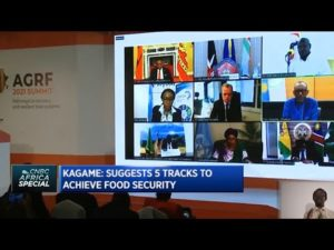 AGRF Summit 2021: Presidential panel on how to improve the resilience of Africa's food systems