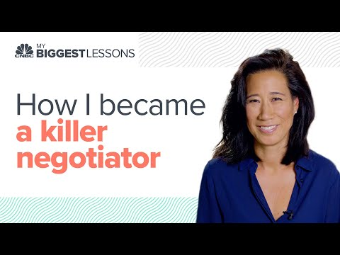 Queen of tech VCs reveals two things needed to become a killer negotiator | CNBC My Biggest Lessons