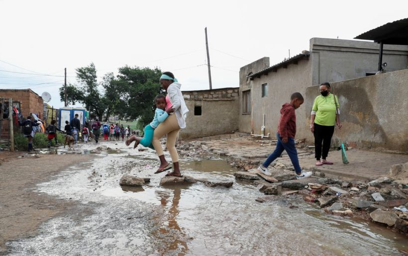 South Africa's ANC faces tough municipal vote over poor services