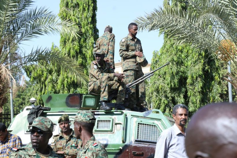 Sudan's Burhan says army ousted government to avoid civil war