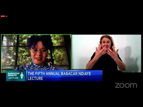 The Fifth Annual Babacar Ndiaye Lecture