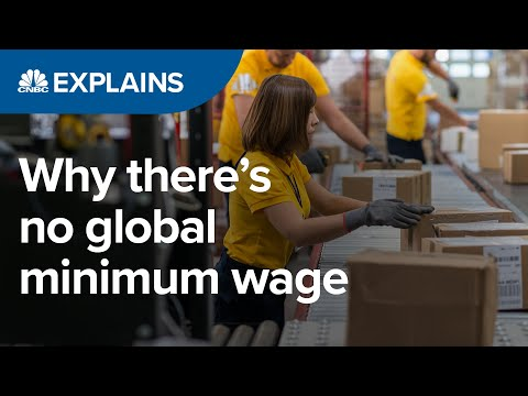 Why there's no global minimum wage